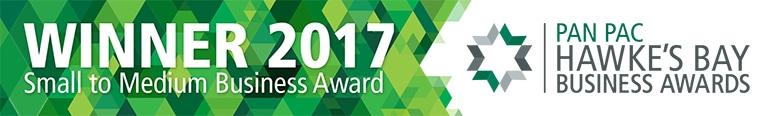 Kiwitax | Small to Medium Hawke's Bay Business Award 2017