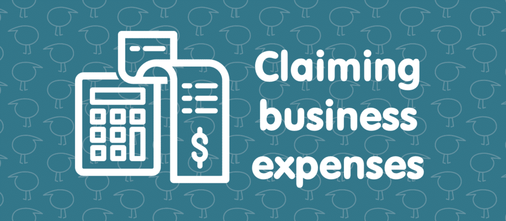 Claiming business expenses